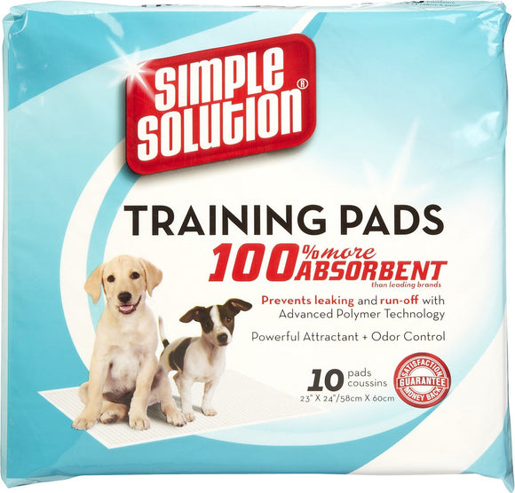 Simple Solution Puppy Training Pads (54x57cm)