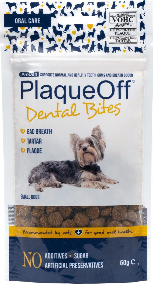 Plaque Off Dental Bites Dog