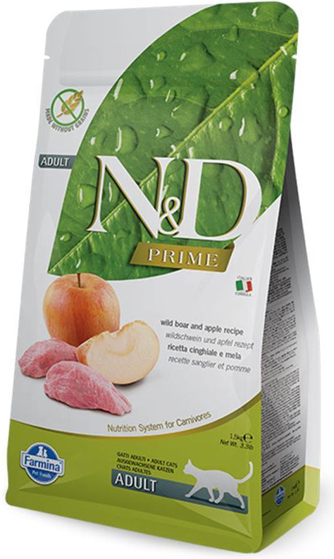 N&D Cat Prime Boar & Apple
