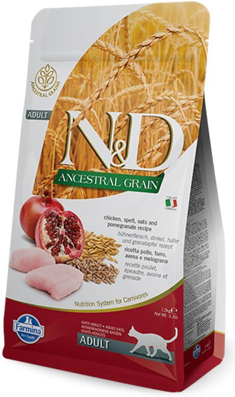 N&D Cat Ancestral Grain Chicken & Pomegranate