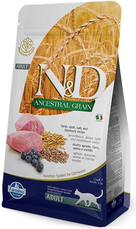 N&D Cat Ancestral Grain Lamb & Blueberry