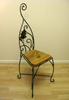 Oakleaf Design Occasional Chair, Maxine Hunt