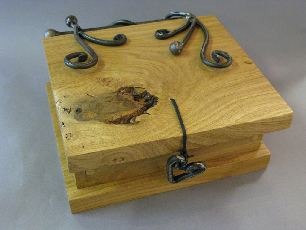 Heart & Scroll Keepsake Box, Maxine Hunt