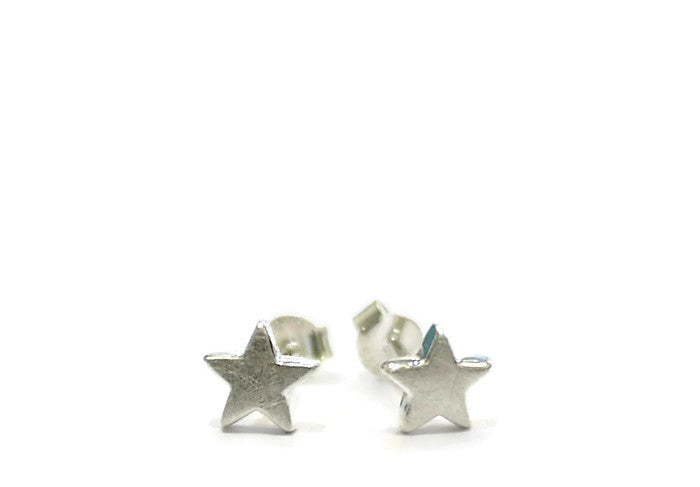chunky star studs by abby filer