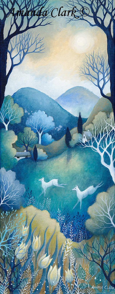 By the Silvery Moon by Amanda Clark