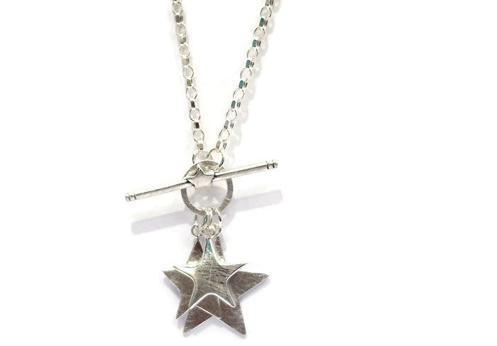3 star necklace