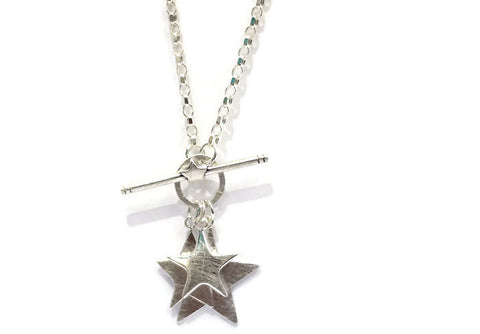 3 star necklace by Abby Filer