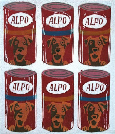 Mychael Barratt Andy Warhol's Dog