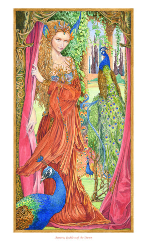 Aurora Goddess of the Dawn - Signed Limited Edition Print