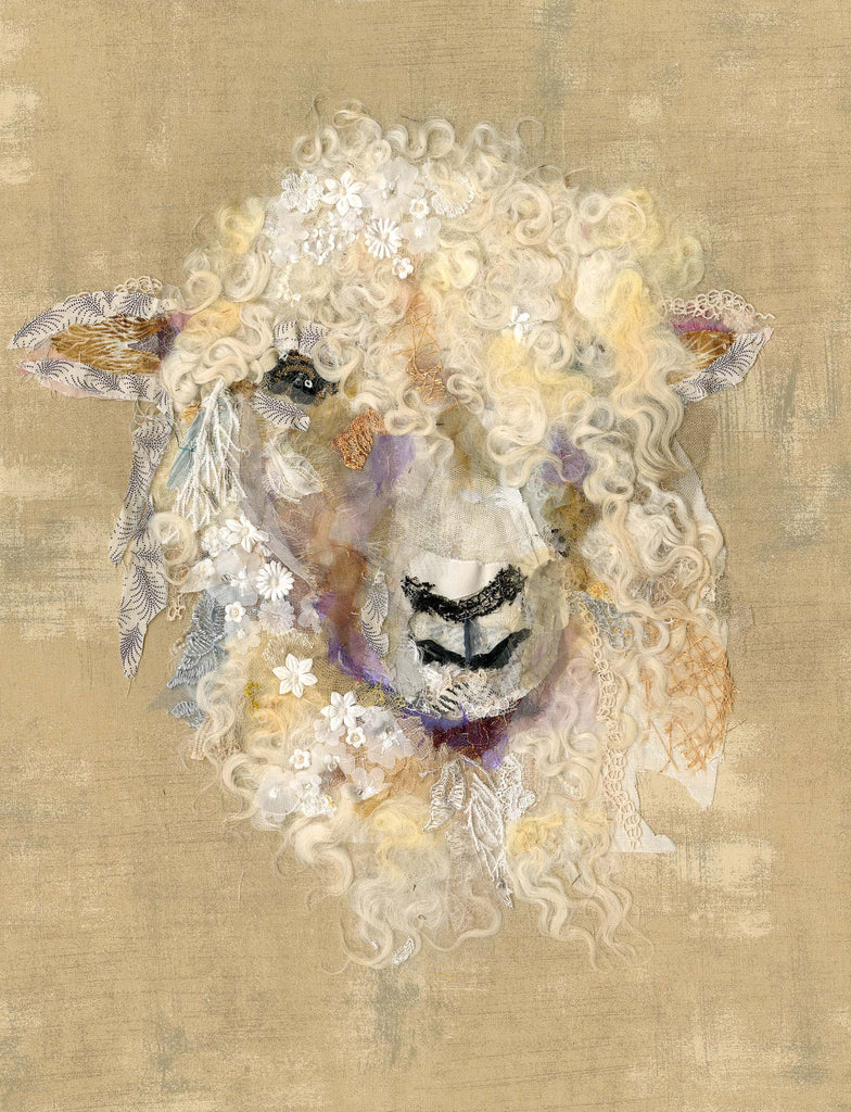 Cotswold Sheep XII by Barbara Shaw