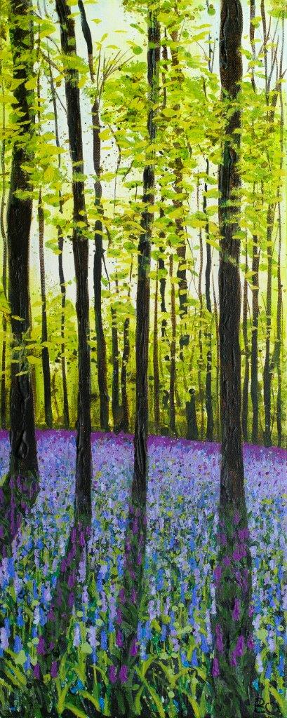 'Bluebell Shadows' by Becca Clegg
