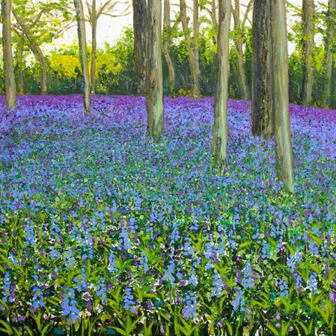 'Spring Wanderings, Chantries 2017' by Becca Clegg