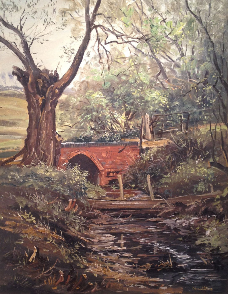 Bridge Over the Brook by Edward Stamp RI