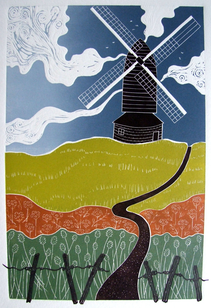 Brill Windmill by Diana Ashdown