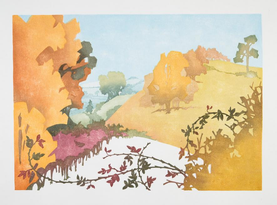 Chiltern Seasons Autumn by Laura Boswell
