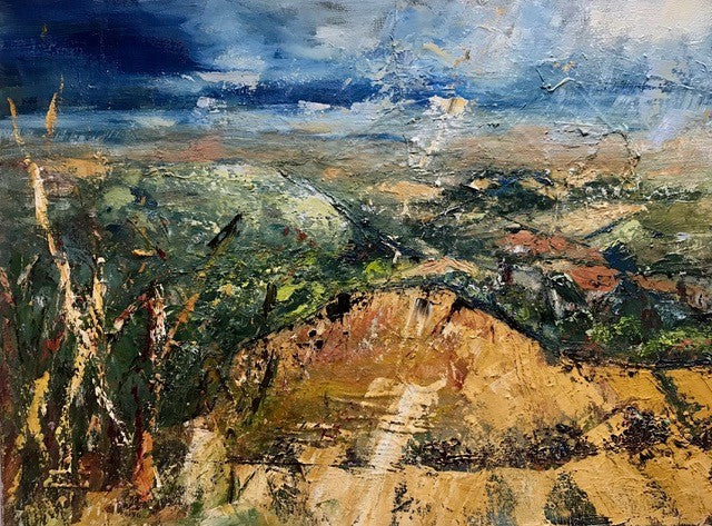 Coombe Hill View by Karen Martin