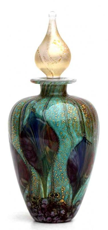 Cosmos Perfume Bottle by Jonathan Harris