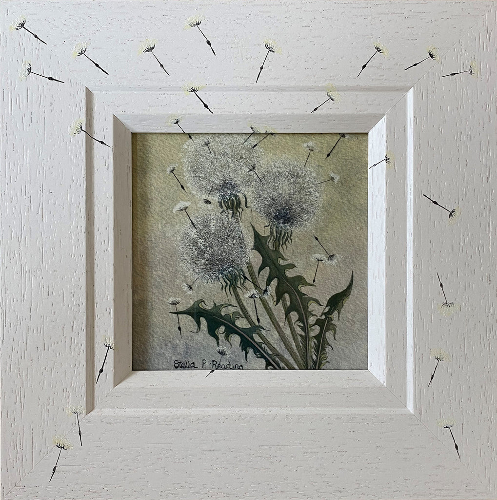 Dandelion Clocks by Stella Parslow