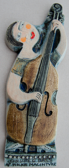 Double Bass by Hilke MacIntyre