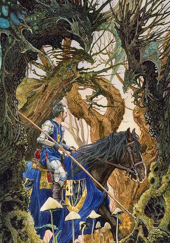 Dragon Wood - Signed Limited Edition Print