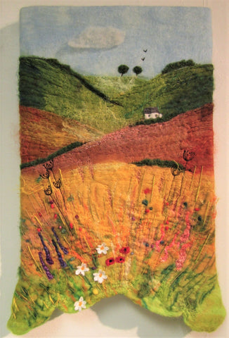 English Summer, Wild Meadow by Myra Hutton