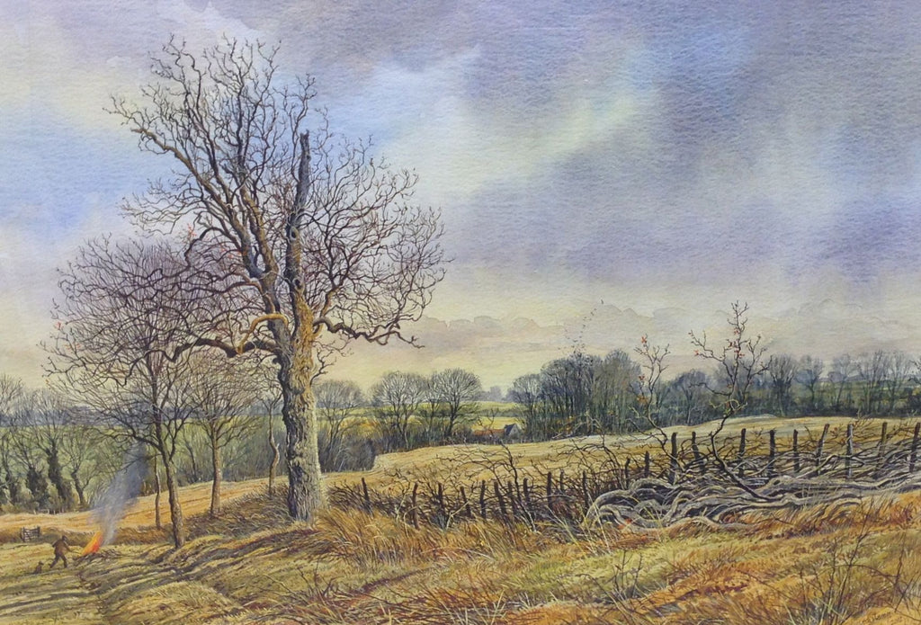 Early March Littlecote by Edward Stamp