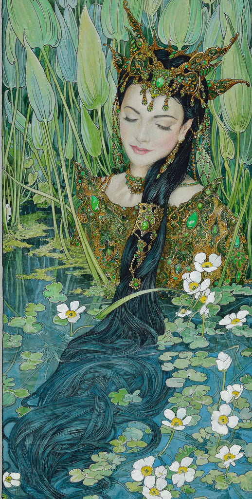 Emerald Nymph (signed limited edition print)