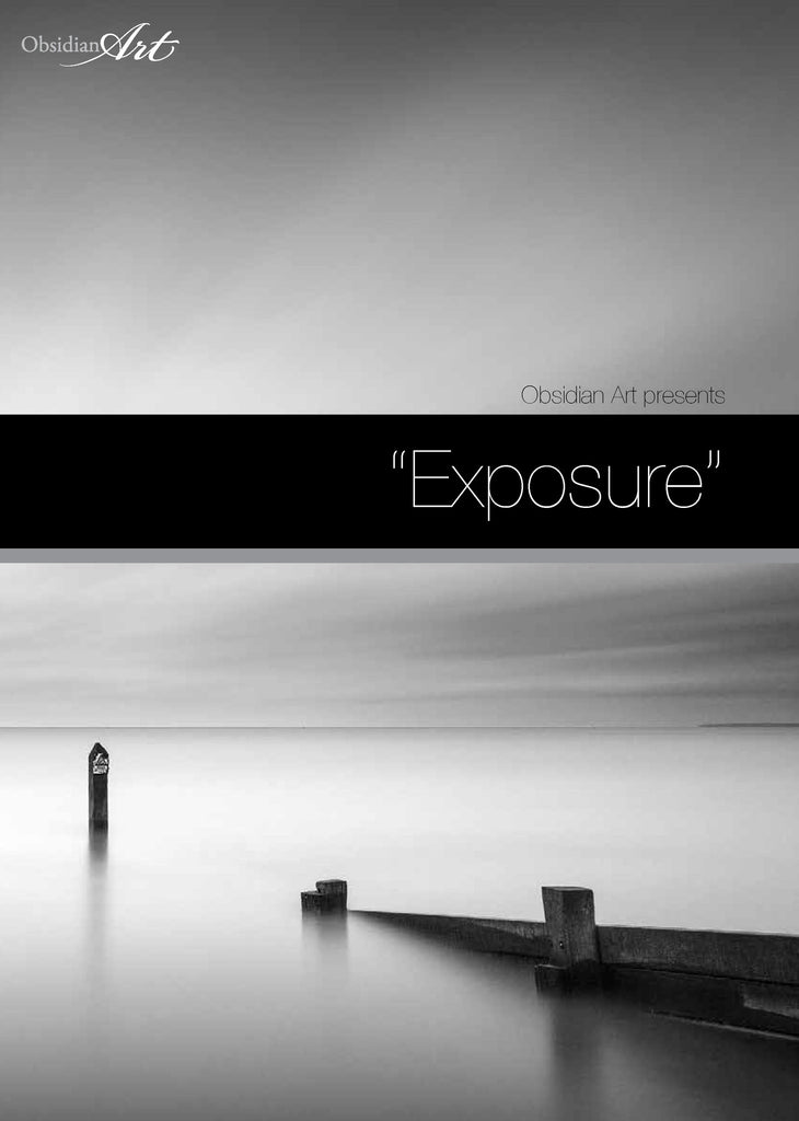 Expsoure : An Exhibition of Photography at Obsidian Art - Front Cover of Exhibition Book