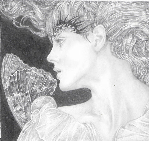 Fae 1 - Original Pencil Drawing