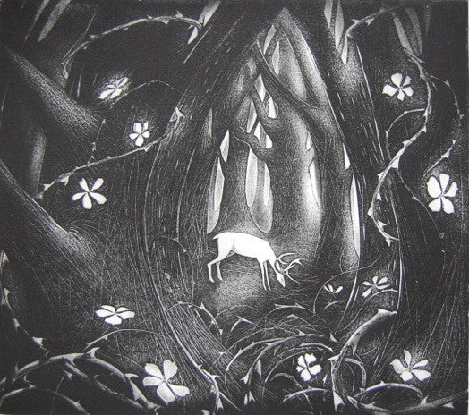 The Thicket - Hand-Produced Etching by Flora Mclachlan