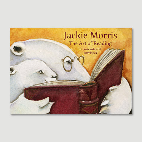 """Art of Reading"" postcard pack by Jackie Morris"