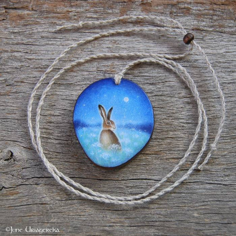 Hand-Painted Pendants