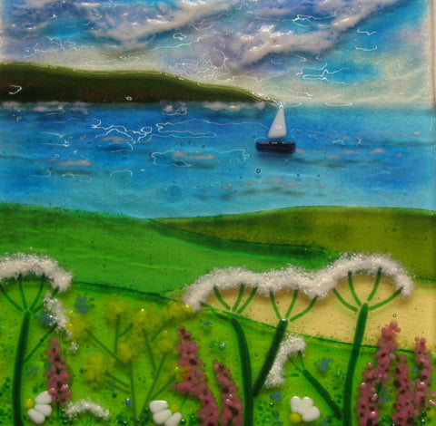 Over the Fields to the Sea by Debbie Lord