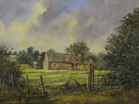 Late Summer, Swanborne by Edward Stamp