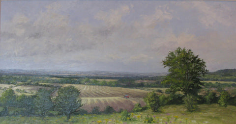 Aylesbury Across the Vale - Oil by Brian Bennett PPROI