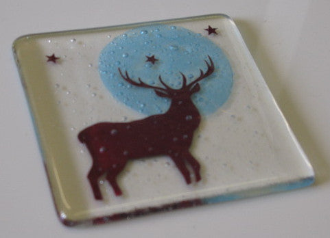 Stag Coaster, Becky Haywood