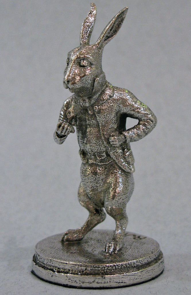 The White Rabbit - Miniature Pewter Figurine by Robert James