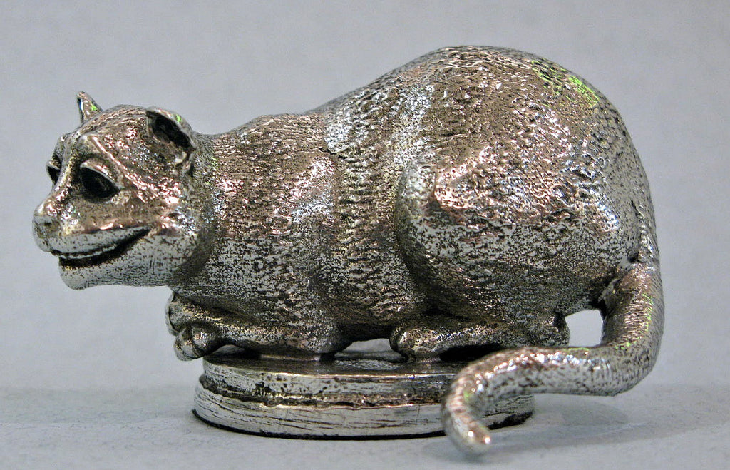 The Cheshire Cat - Miniature Pewter Figurine by Robert James