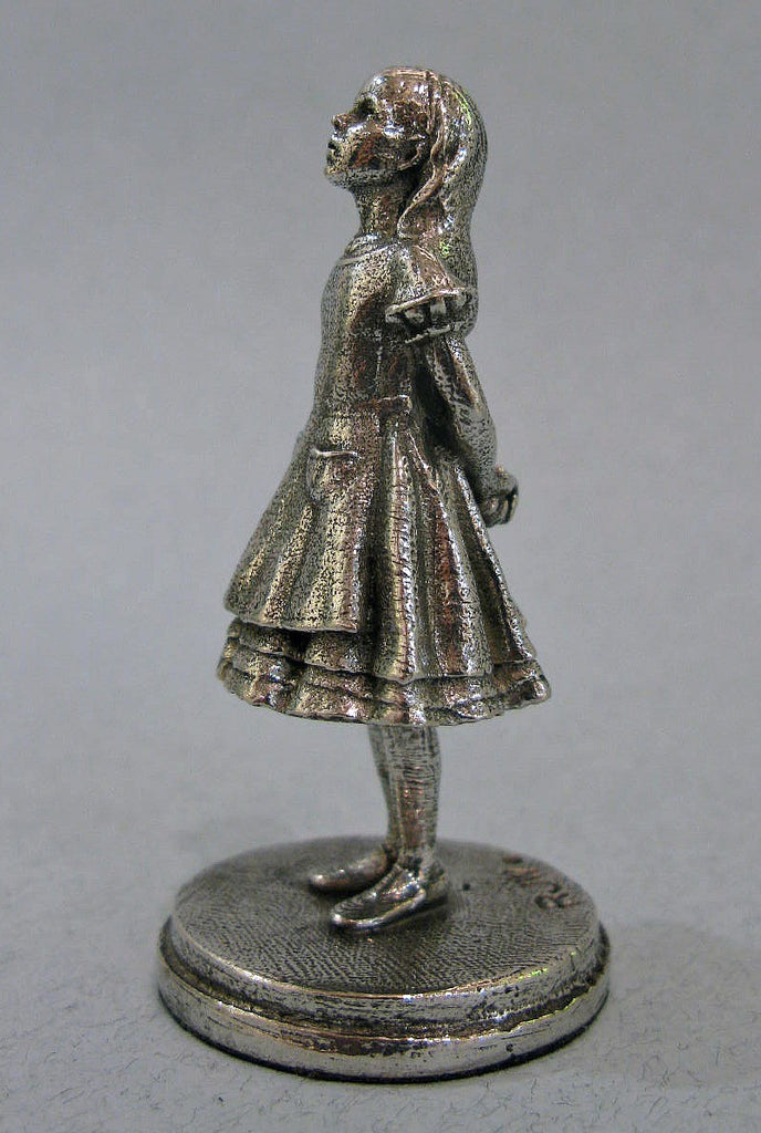 Alice - Miniature Pewter Figurine by Robert James