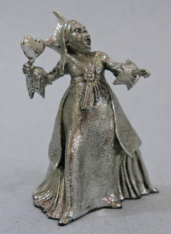 The Queen of Hearts - Miniature Pewter Figurine by Robert James