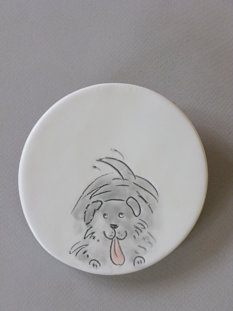 Handmade Ceramic Coaster by Stephanie Beasley