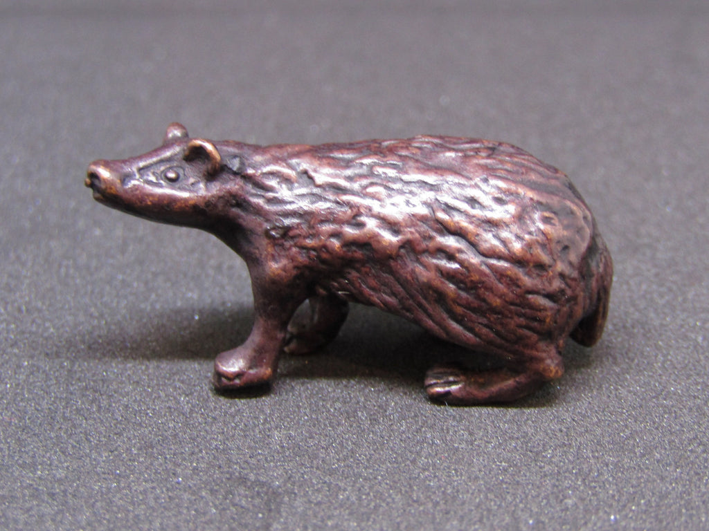 Miniature Bronze Badger