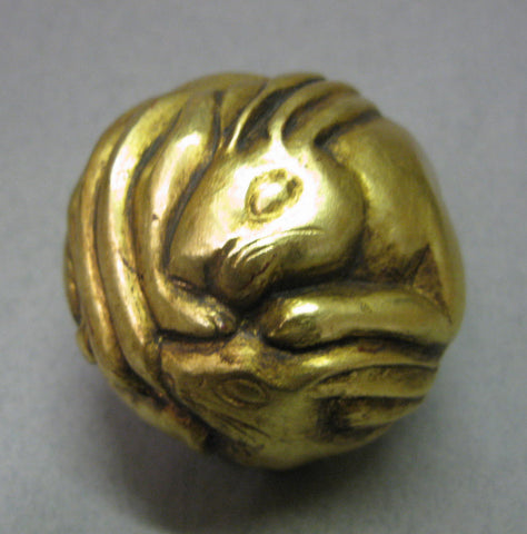 Gold Hare Totem Orb