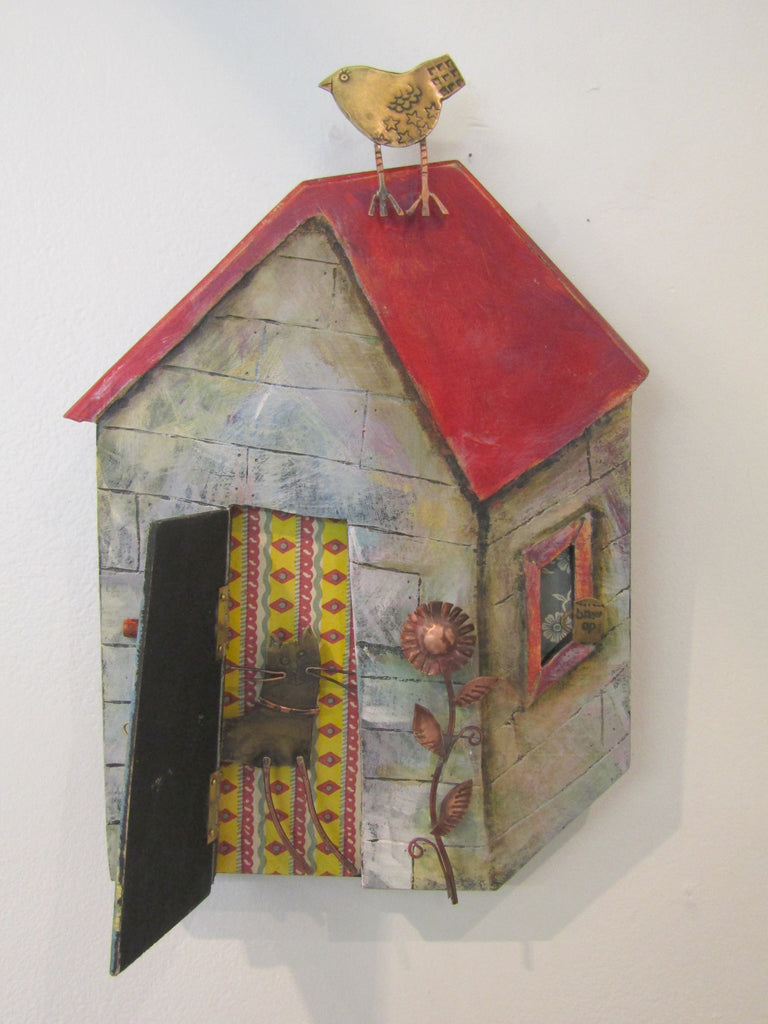 Wall hung sculpture by Frances Noon