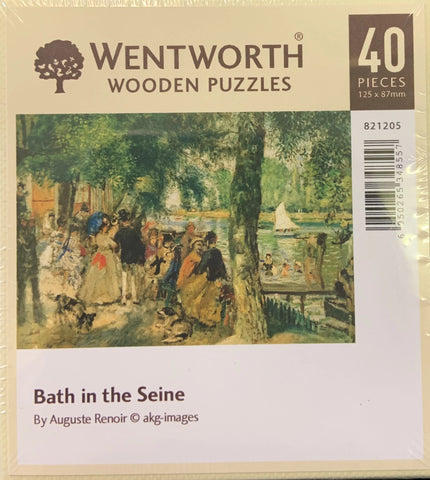 Bath in the Seine Jigsaw