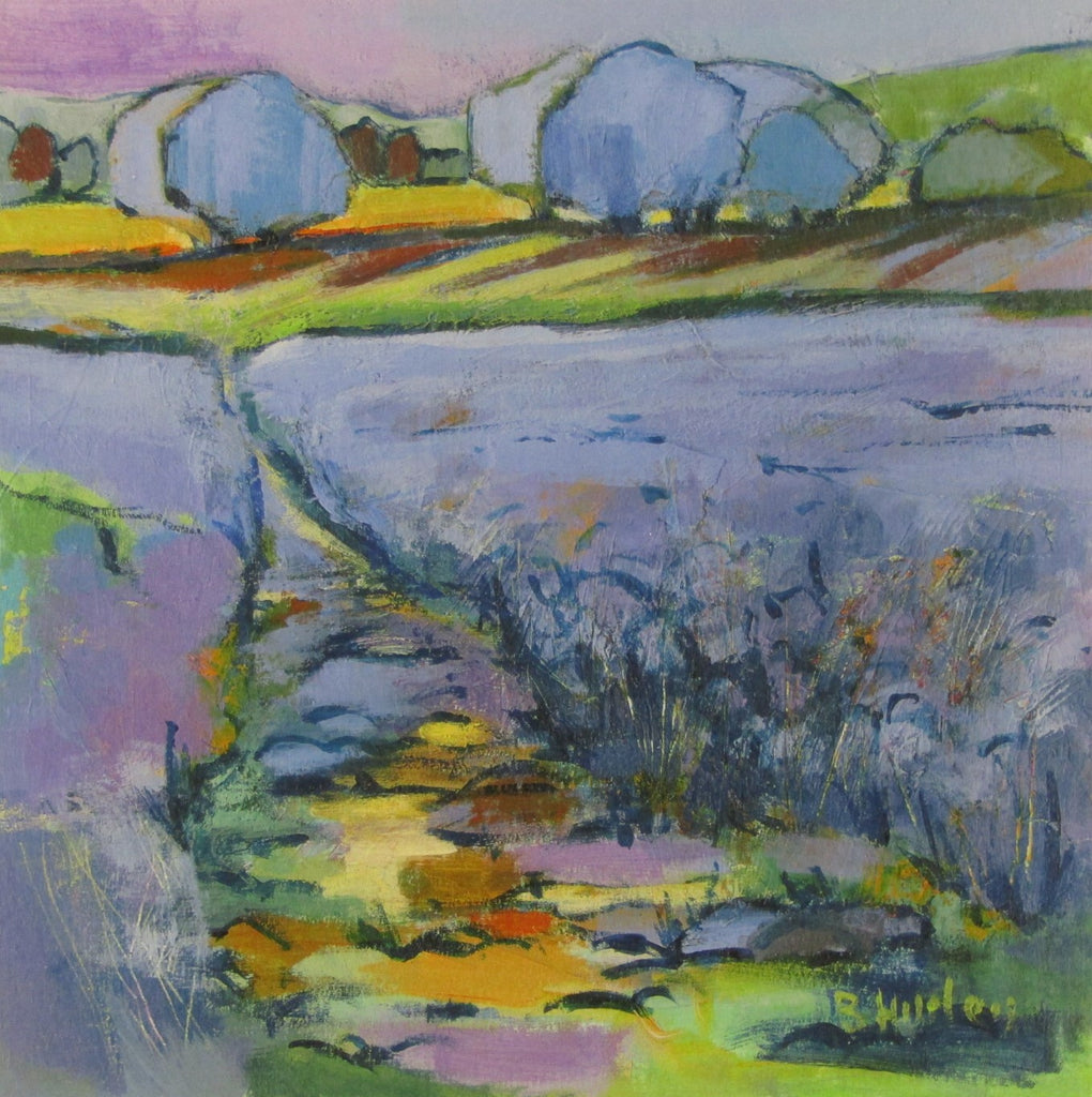 Path through Linseed by Brenda Hurley