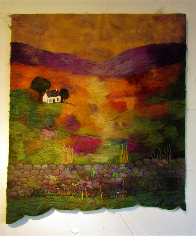 'Heather Croft' Landscape by Myra Hutton