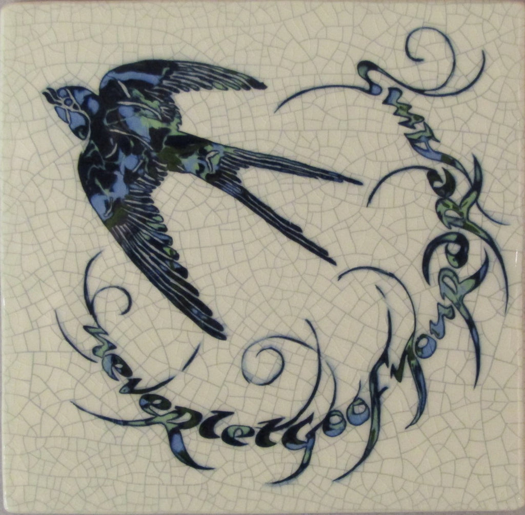 """Never Let Go of your Dreams"" Ceramic Tile by Mel Chambers"