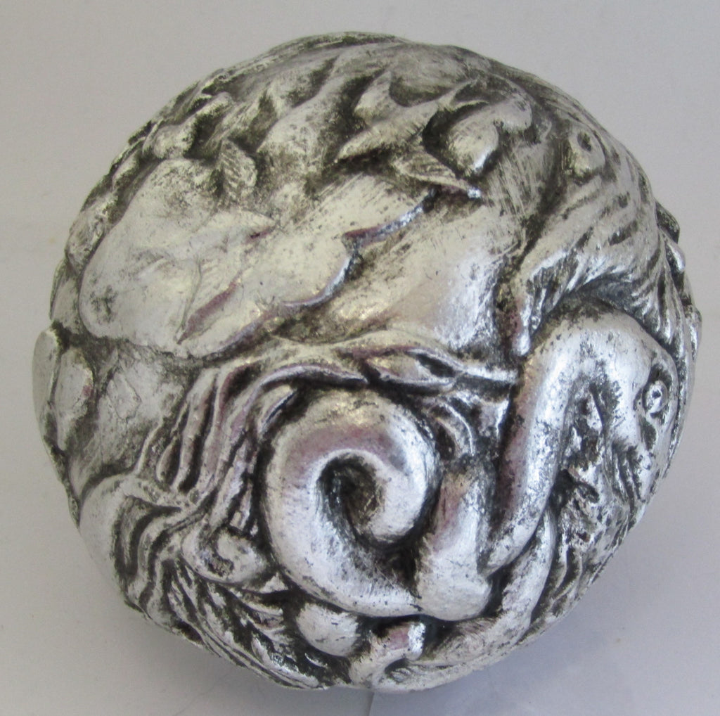 Realms Silver Gilt Totem Orb by Yve Sturgeon