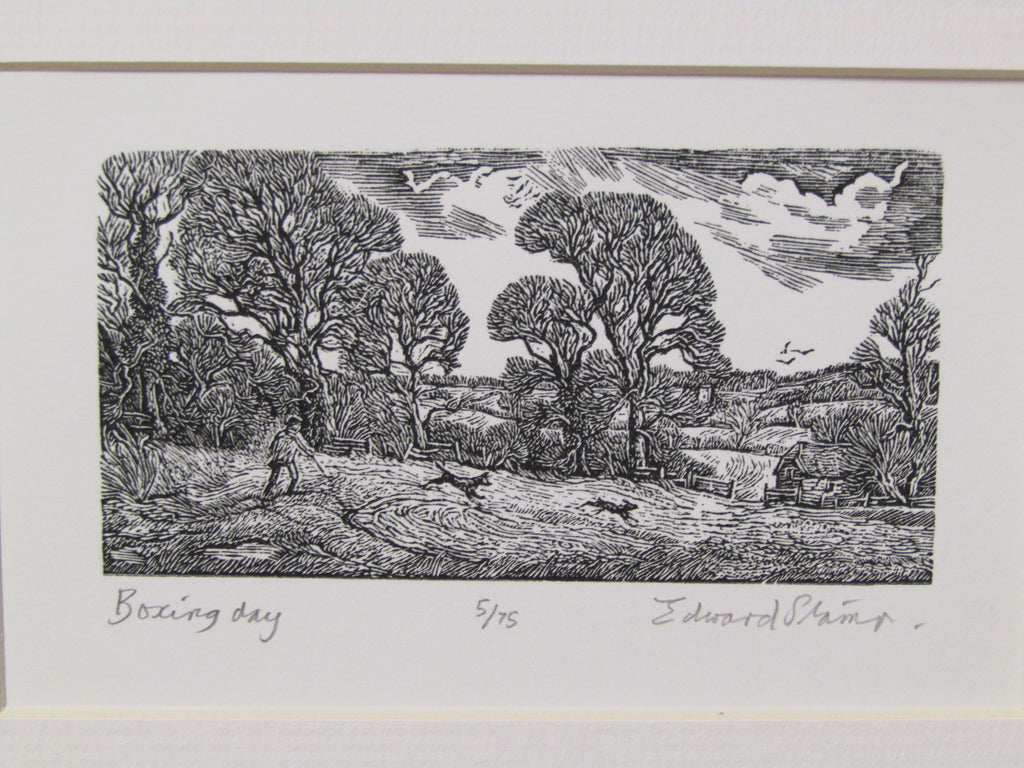 Wood Engraving by Edward Stamp